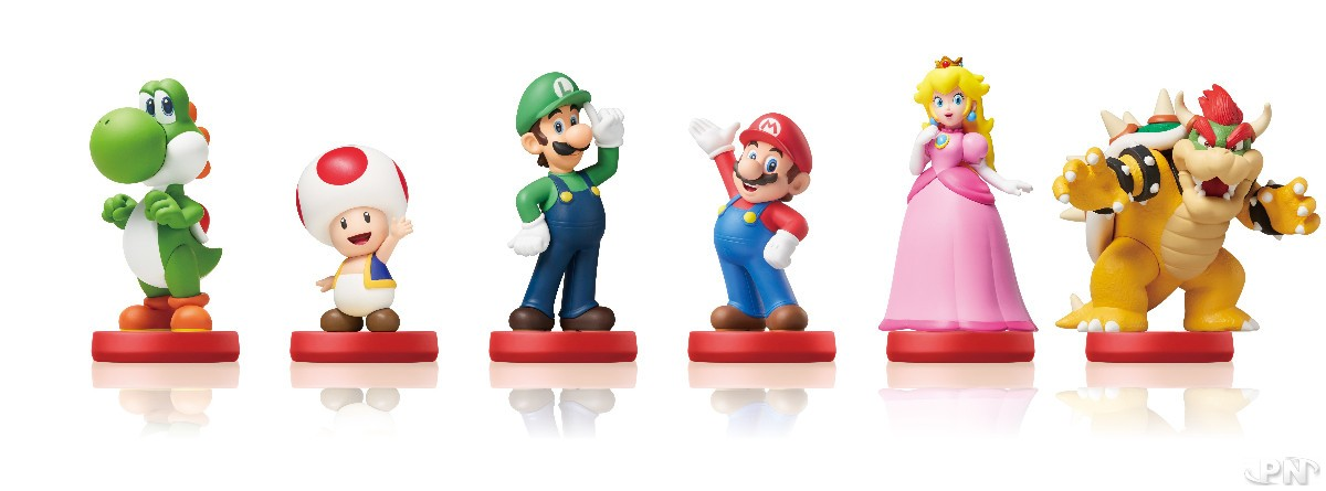 amiibo Super Mario Collection