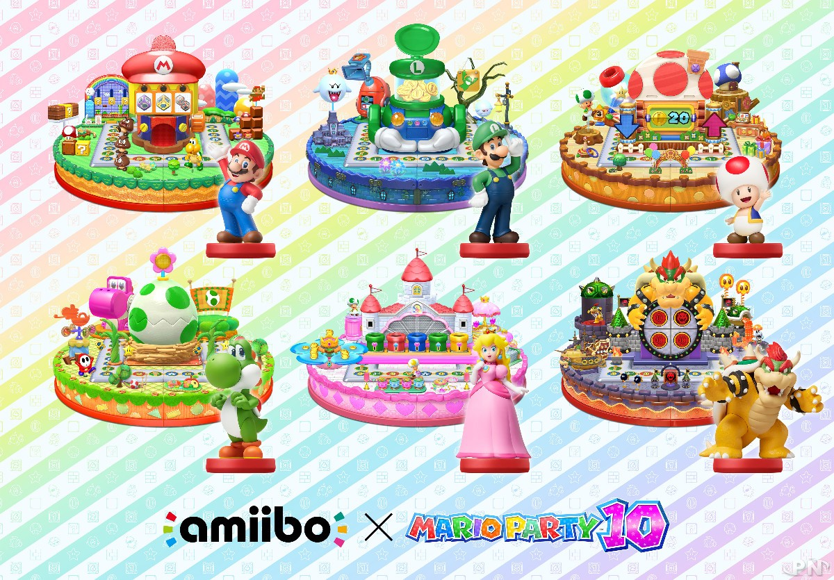Les Amiibo permettent d'avoir des plateaux exclusifs dans le mode Amiibo Party