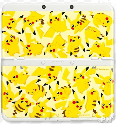 New nintendo 3ds de nouvelles coques au japon for Coque 3ds xl pokemon