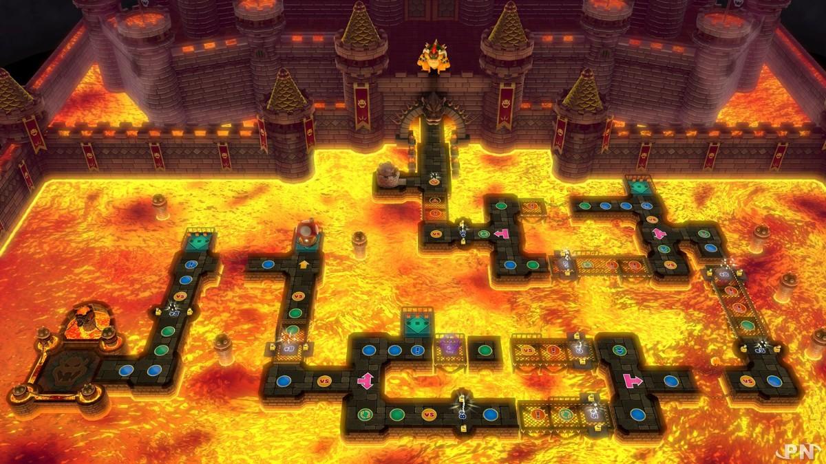 Château du Chaos, un plateau de Mario Party 10