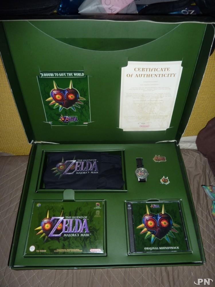 Le vrai collector du jeu c'est bien lui : le coffret prestigieux en édition limitée doté d'un certificat. Pour l'acheter en neuf sur le net, il faut être chanceux et fortuné à la fois.
