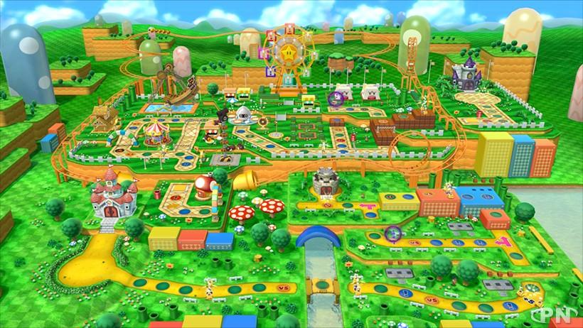plateau de Mario Party 10 : Parc des Champis