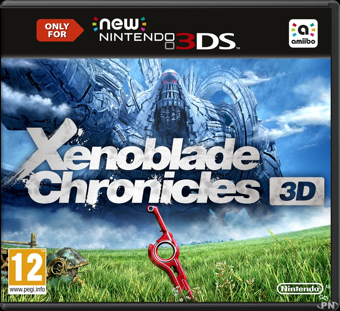 jaquette Xenoblade Chronicles 3D Europe