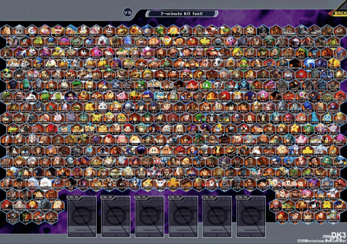 Le mega bestiaire rêvé des fans de Smash Bros !