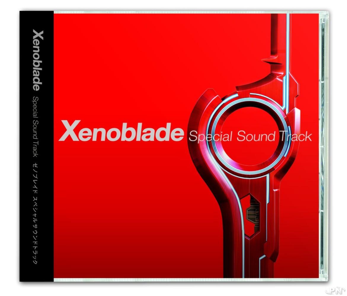 Jaquette BO Xenoblade Chronicles 3D Japon