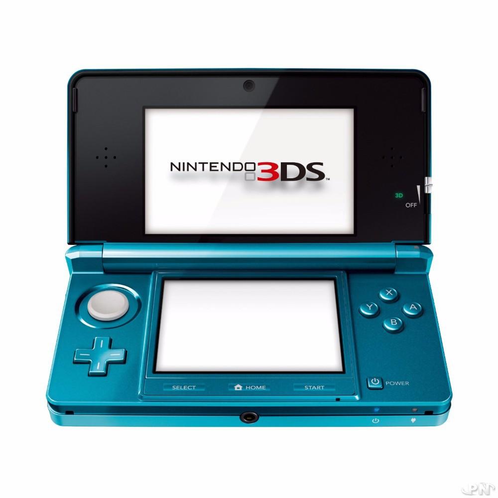 La console Nintendo 3DS à sa sortie