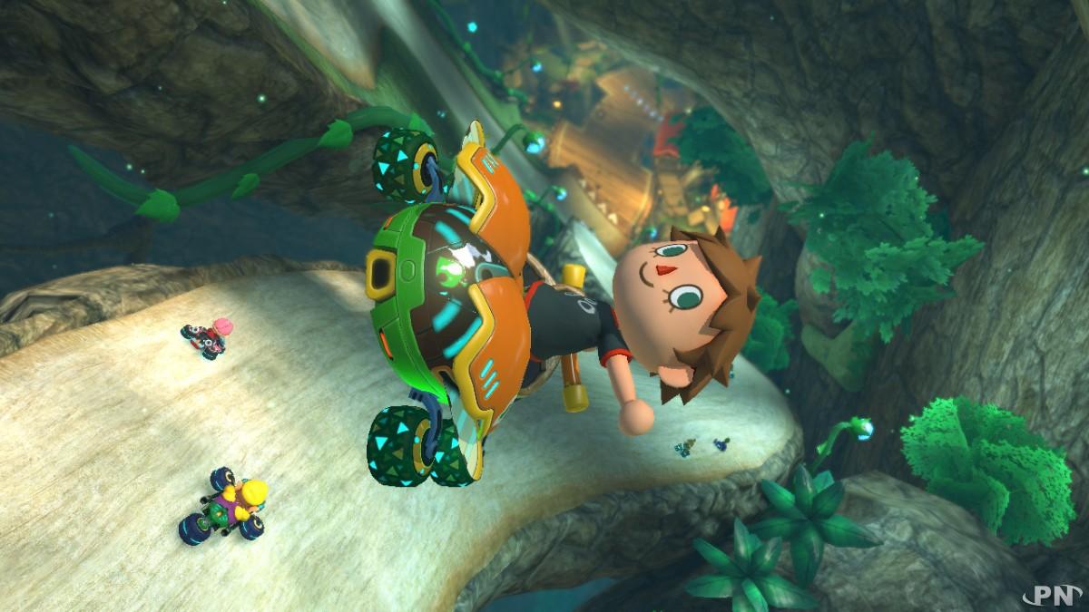 Circuit Animal Crossing DLC 2 Mario Kart 8