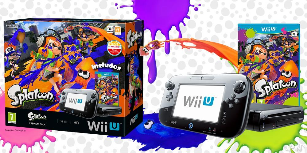 Pack Wii U Splatoon