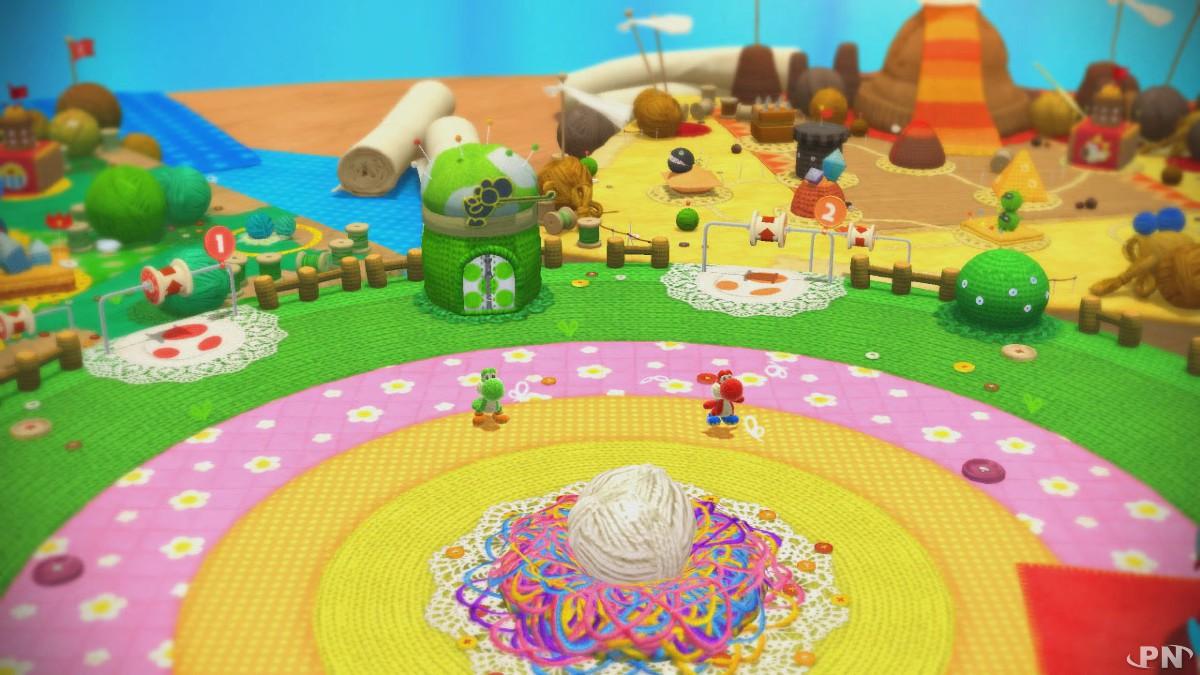 Yoshi's Woolly World sur Wii U