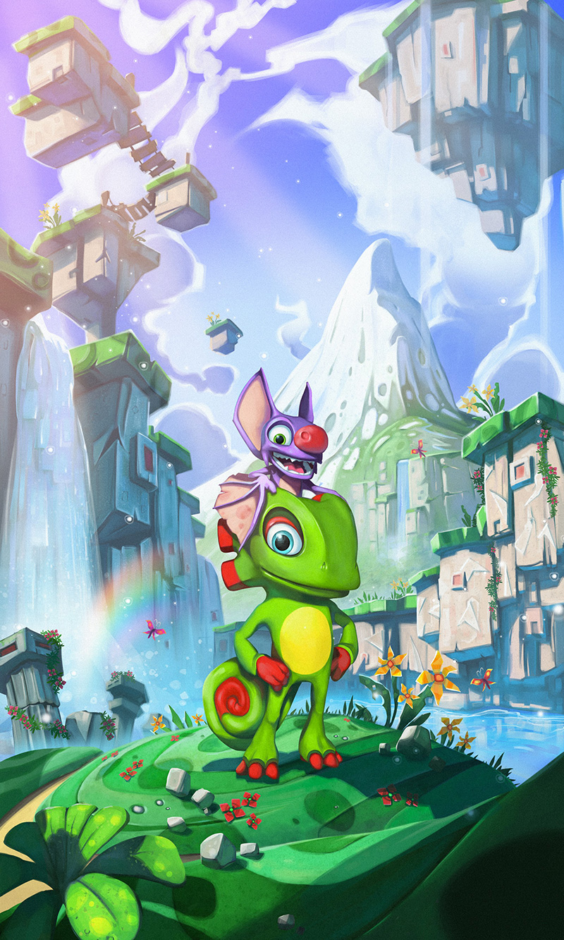 Yooka Laylee artwork