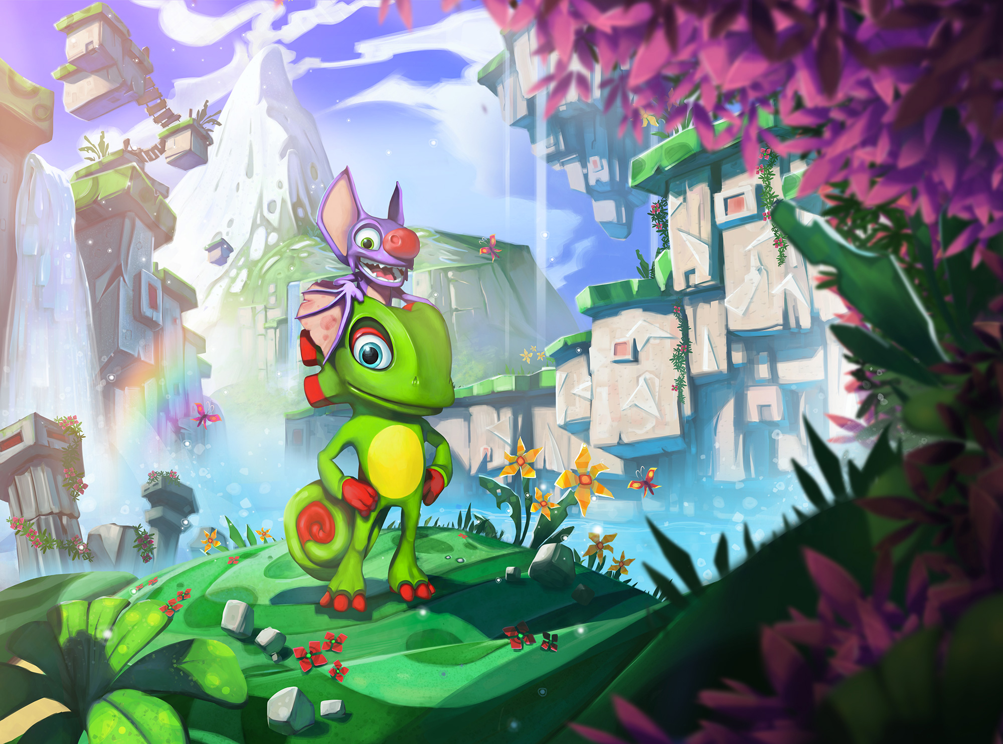 Artwork Yooka-Laylee