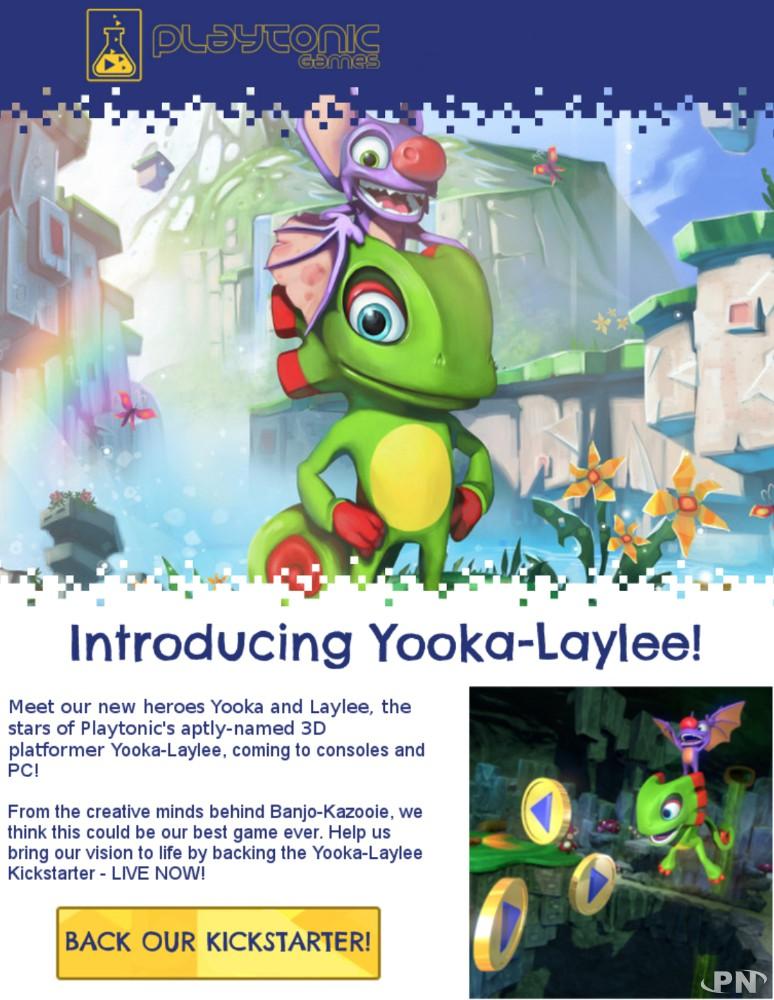 Youka-Laylee Kickstarter