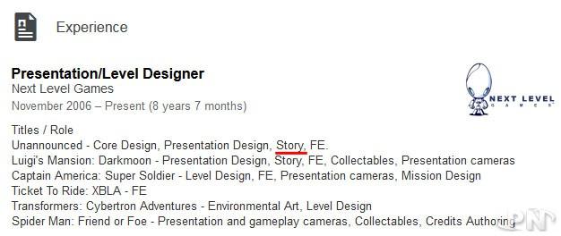 Linkedin profil Next Level Games