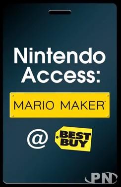 Mario Maker en démo chez Best Buy