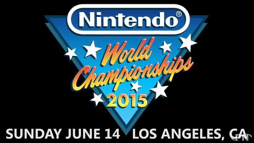 Logo du Nintendo World Championship 2015