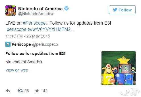 Nintendo Periscope