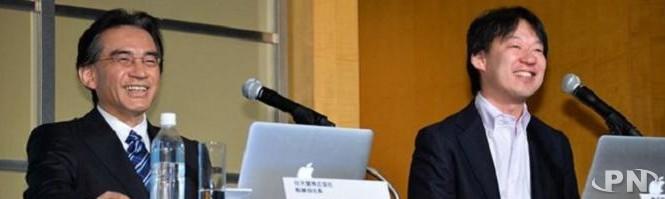 Satoru Iwata et Shintaro Asako