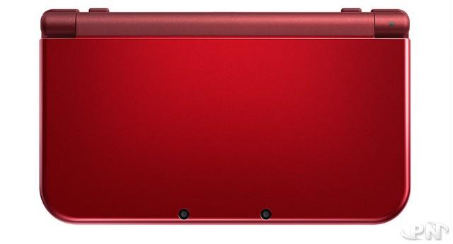 une new nintendo 3ds xl rouge au japon. Black Bedroom Furniture Sets. Home Design Ideas