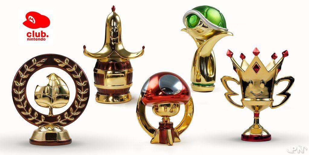 trophée Mario Kart 8 Club Nintendo