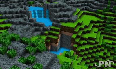 Minecraft sur 3DS ? Non, Cube Creator 3D