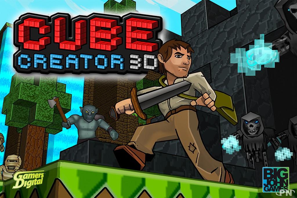 Cube Creator 3D, un jeu de la trempe d'un Minecraft
