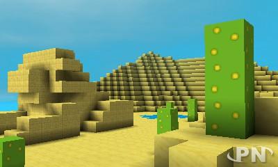 Toute ressemblance avec Minecraft est voulue et... bienvenue !