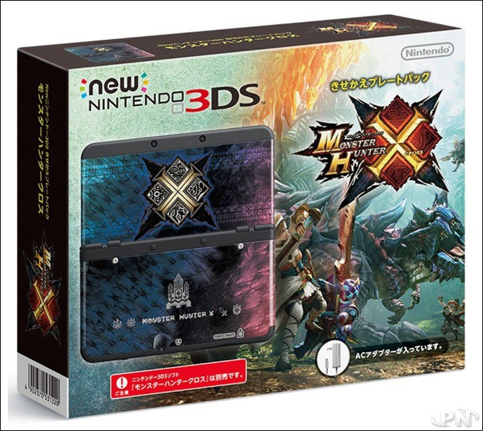 Monster Hunter X sur New Nintendo 3DS