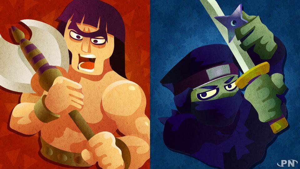 Splatfest européen du 30 janvier 2016 : barbare ou ninja