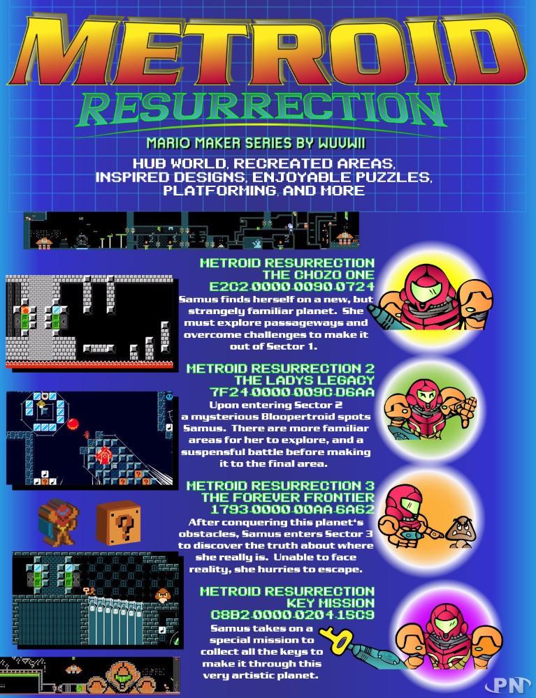 Metroid Super Mario Maker
