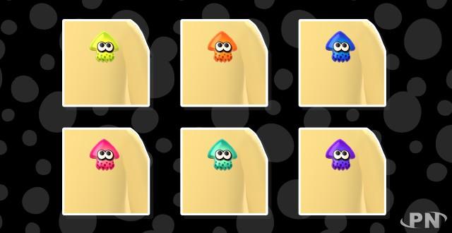 Des badges Calamar (Splatoon) pour votre Mii dans Miitomo