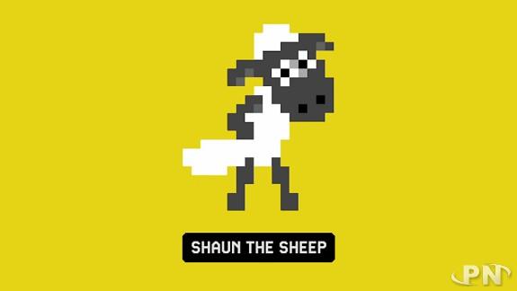 Costume de Shaun le mouton dans Super Mario Maker