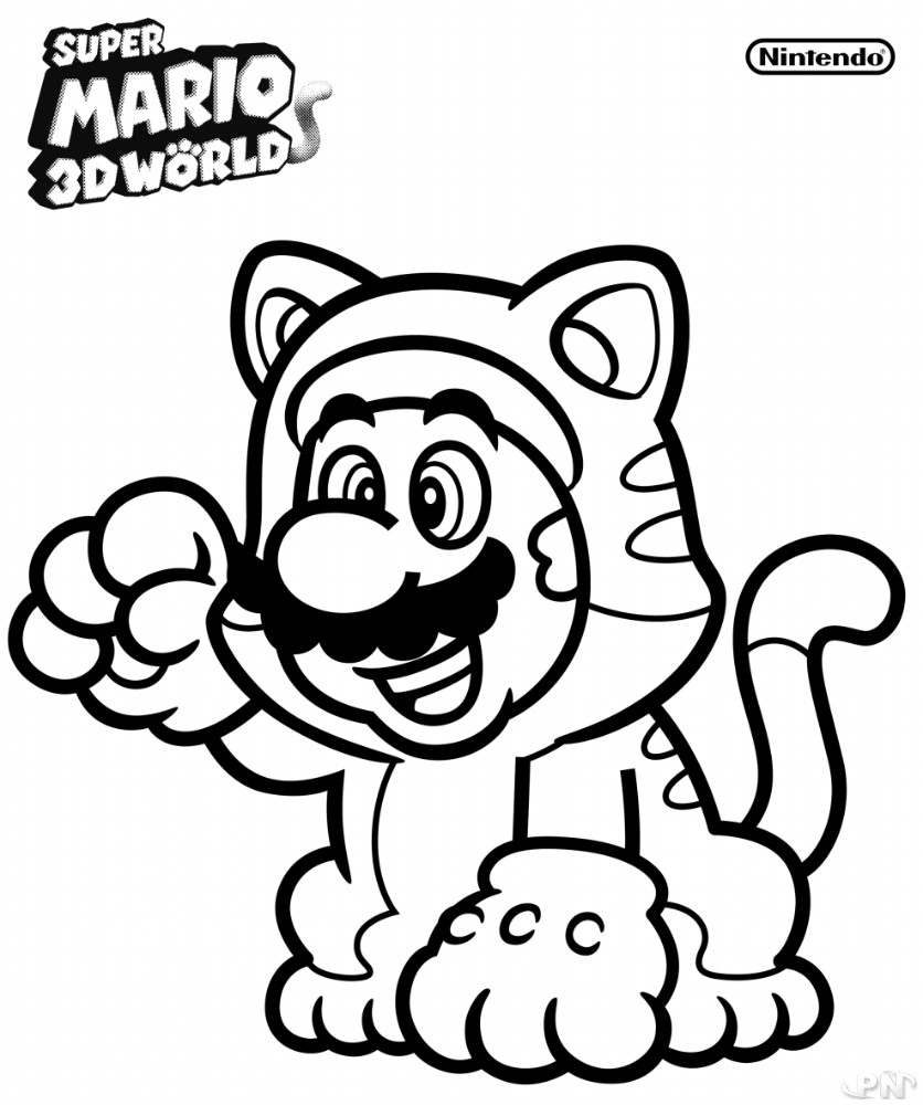 Coloriages Mario04 03 2018