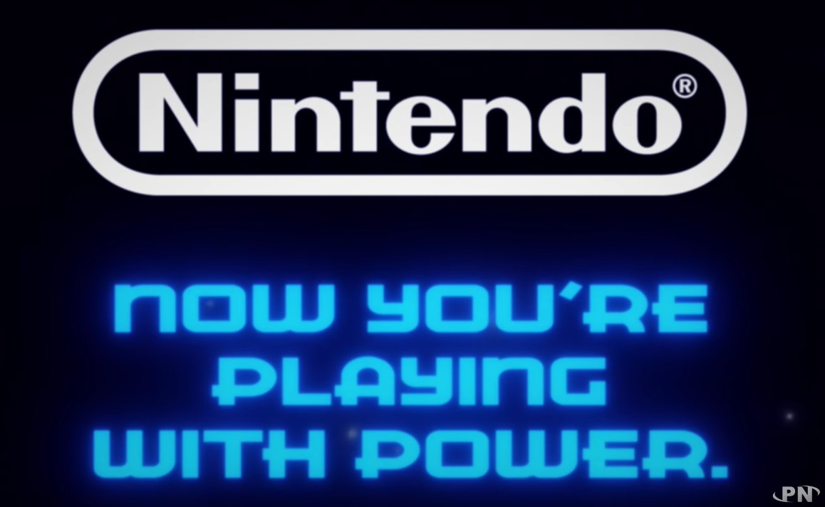 now, you're playing with power : slogan NES