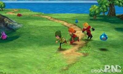 DQ7 sur Nintendo 3DS