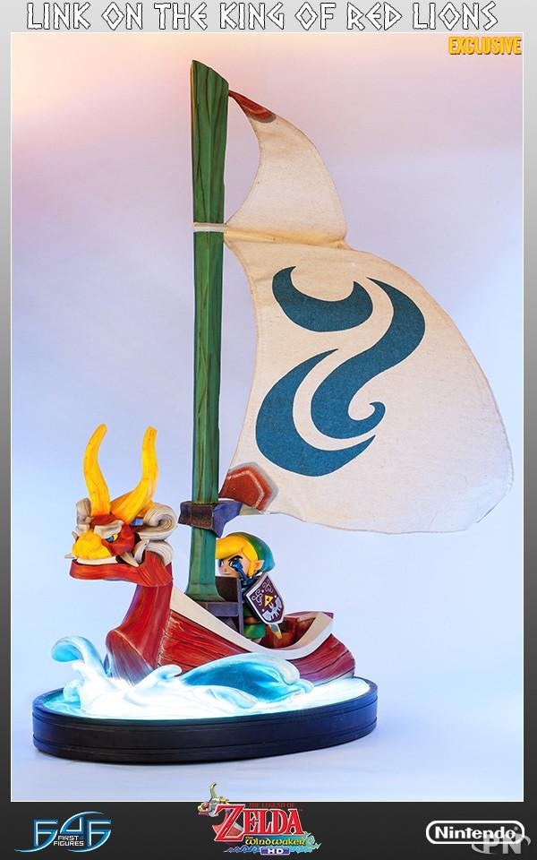 Une Magnifique Figurine De Link Barrant Lion Rouge News Puissance Nintendo