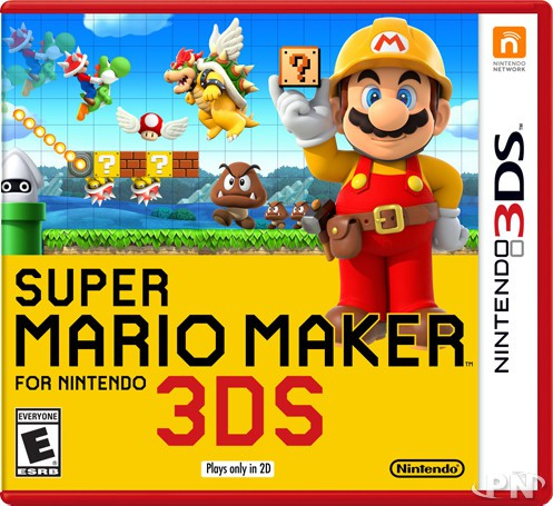 jaquette Super Mario Maker 3DS
