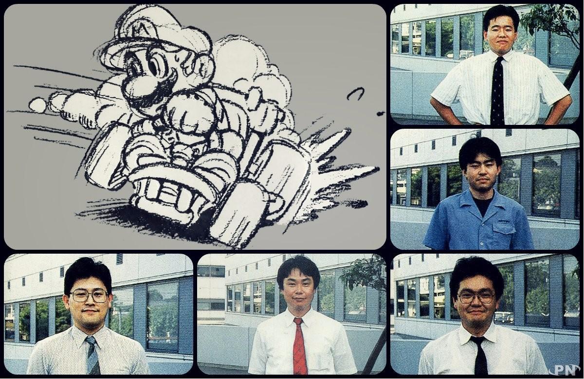 Equipe de développement de Super Mario Kart (SNES)