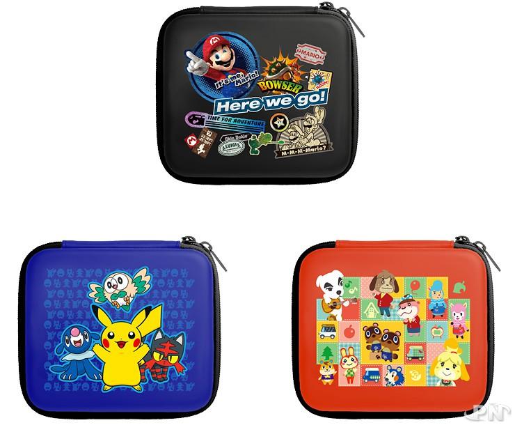japon une nintendo 2ds new smb 2 et des pochettes trop mimi