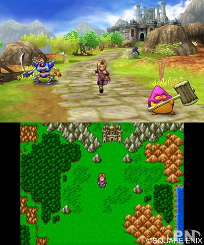 Dragon Quest 11 sur 3DS