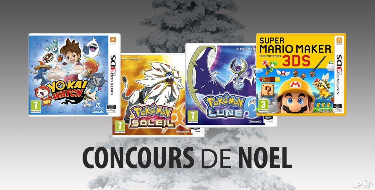 Concours Nintendo Noël