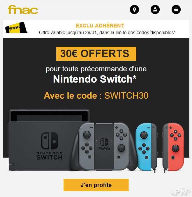 Carte Cadeau Nintendo Fnac.Bon Plan La Fnac Offre 30 Euros En Cheques Cadeaux Pour La