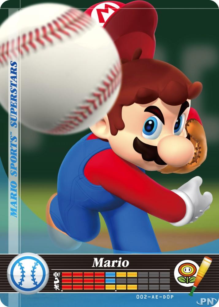 Cartes amiibo Mario Sports Superstars22/10/2018
