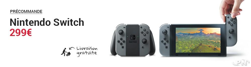 Prix de la switch en france : 299 € en ce moment