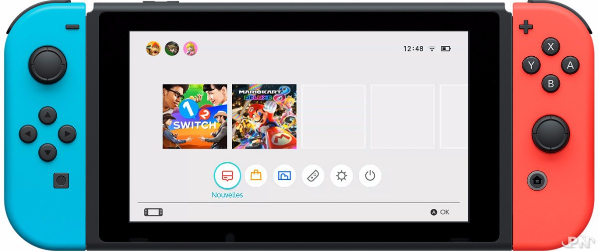 nintendo switch pack mario party