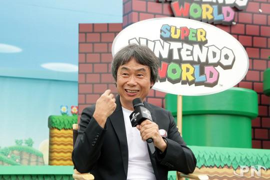 Shigeru Miyamoto : le Walt Disney du jeu vidéo dans 'son' parc !