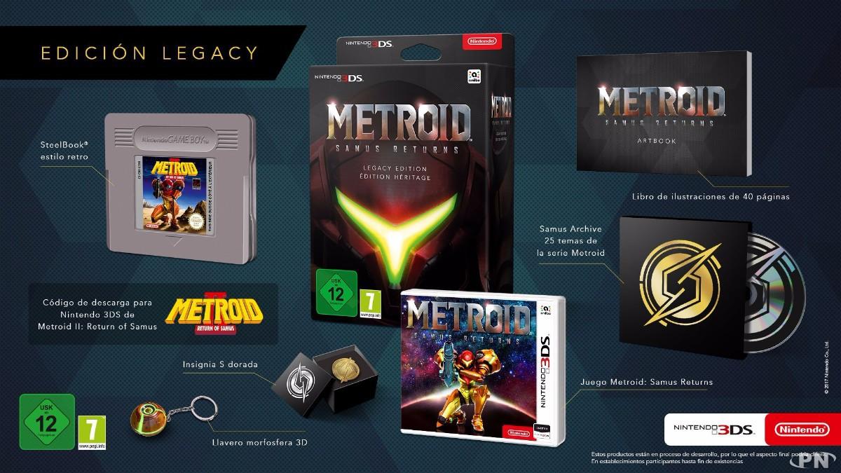 Edition Héritage de Metroid: Samus Returns - Legacy Edition