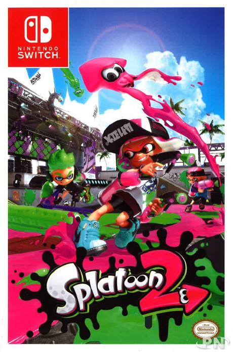 couverture guide officiel splatoon 2 Switch