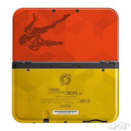 Edition collector New Nintendo 3DS XL Samus Metroid