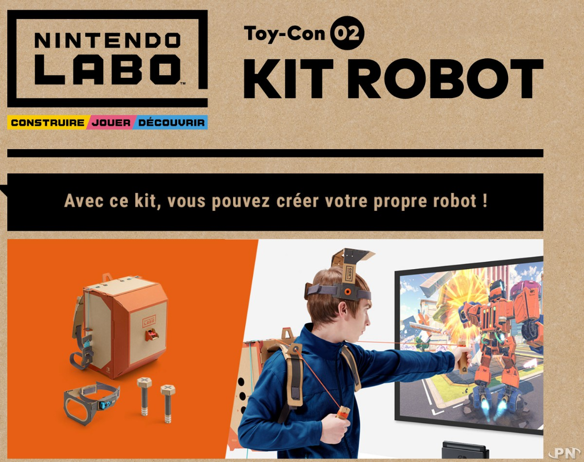 nintendo annonce nintendo labo une nouvelle fa on de jouer avec sa switch. Black Bedroom Furniture Sets. Home Design Ideas