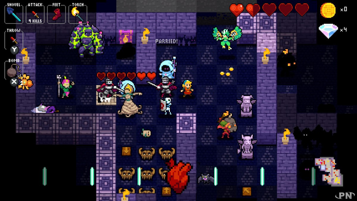 Crypt of the NecroDancer < Switch < Tests complets < Tests de jeux